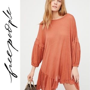 Free People - Riverside Tunic in Apricot - Size M